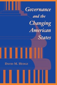 Cover Governance And The Changing American States
