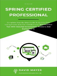 Cover Spring Certified Professional
