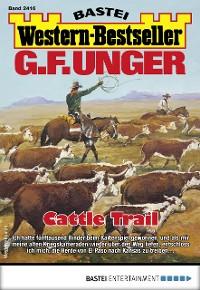 Cover G. F. Unger Western-Bestseller 2416 - Western