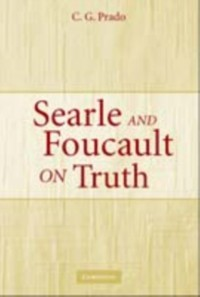 Cover Searle and Foucault on Truth