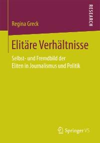 Cover Elitäre Verhältnisse