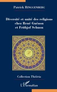 Cover Diversite et unite des religions chez ..