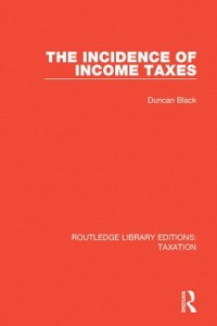 Cover Incidence of Income Taxes