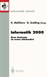 Cover Informatik 2000
