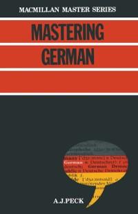 Cover Mastering German