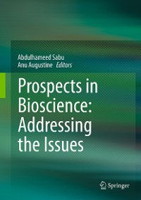 Cover Prospects in Bioscience: Addressing the Issues