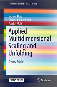 Cover Applied Multidimensional Scaling and Unfolding