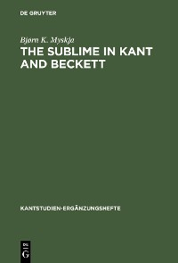 Cover The Sublime in Kant and Beckett