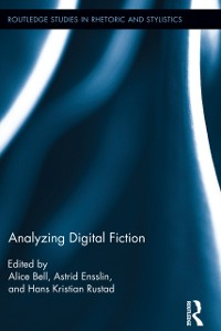 Cover Analyzing Digital Fiction