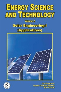 Cover Energy Science And Technology, Solar Engineering-I (Applications)