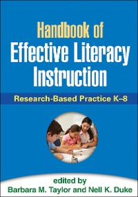Cover Handbook of Effective Literacy Instruction