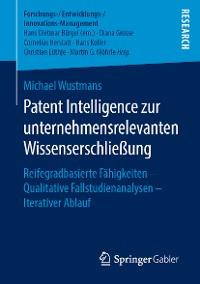 Cover Patent Intelligence zur unternehmensrelevanten Wissenserschließung