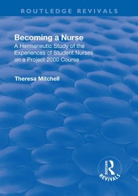 Cover Becoming a Nurse
