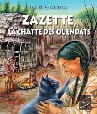 Cover Zazette, la chatte des Ouendats