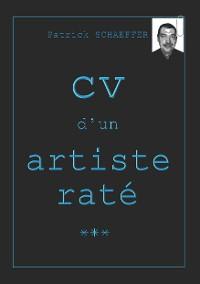 Cover CV d'un artiste raté