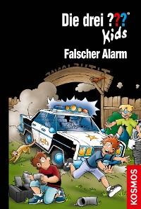 Cover Die drei ??? Kids, 85, Falscher Alarm (drei Fragezeichen Kids)