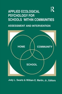 Cover Applied Ecological Psychology for Schools Within Communities