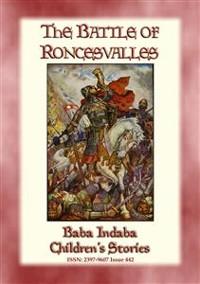 Cover THE BATTLE OF RONCEVALLES - A Carolingian Legend