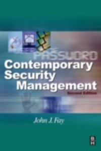 Cover Contemporary Security Management