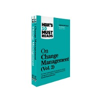 Cover HBR's 10 Must Reads on Change Management 2-Volume Collection