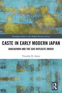 Cover Caste in Early Modern Japan