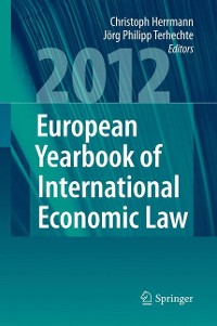 Cover European Yearbook of International Economic Law 2012