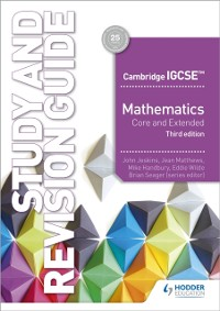 Cover Cambridge IGCSE Mathematics Core and Extended Study and Revision Guide 3rd edition