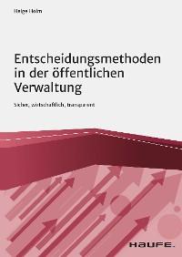 Cover Entscheidungsmethoden in der öffentlichen Verwaltung