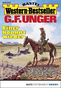 Cover G. F. Unger Western-Bestseller 2417 - Western