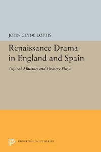 Cover Renaissance Drama in England and Spain