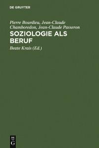 Cover Soziologie als Beruf
