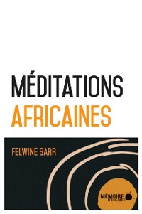 Cover Meditations africaines