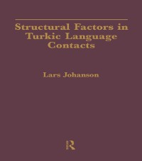 Cover Structural Factors in Turkic Language Contacts