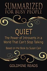 Cover Quiet - Summarized for Busy People