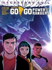 Cover Saban's Go Go Power Rangers #31