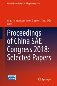 Cover Proceedings of China SAE Congress 2018: Selected Papers