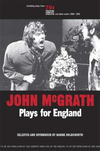 Cover John Mcgrath - Plays For England
