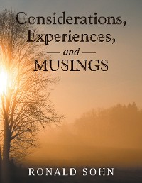 Cover Considerations, Experiences, and Musings