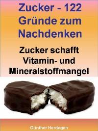 Cover Zucker - 122 Gründe zum Nachdenken