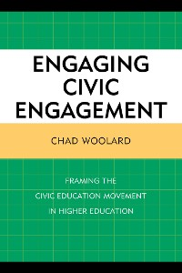 Cover Engaging Civic Engagement