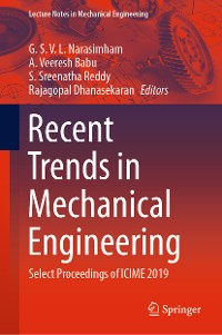 Cover Recent Trends in Mechanical Engineering