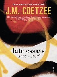 Cover Late Essays