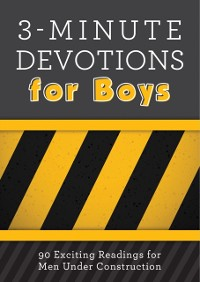 Cover 3-Minute Devotions for Boys