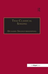 Cover Thai Classical Singing