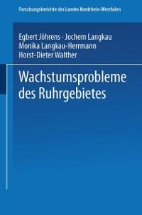 Cover Wachstumsprobleme des Ruhrgebietes