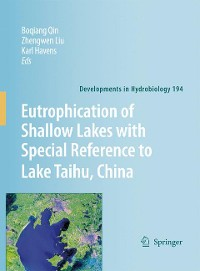 Cover Eutrophication of Shallow Lakes with Special Reference to Lake Taihu, China