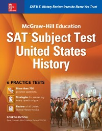 Cover McGraw-Hill Education SAT Subject Test US History 4th Ed