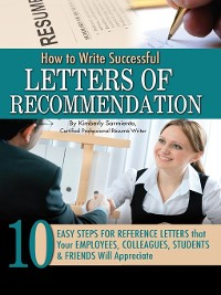 Cover How to Write Successful Letters of Recommendation
