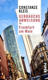 Cover Gebrauchsanweisung für Frankfurt am Main