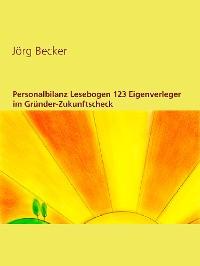 Cover Personalbilanz Lesebogen 123 Eigenverleger im Gründer-Zukunftscheck